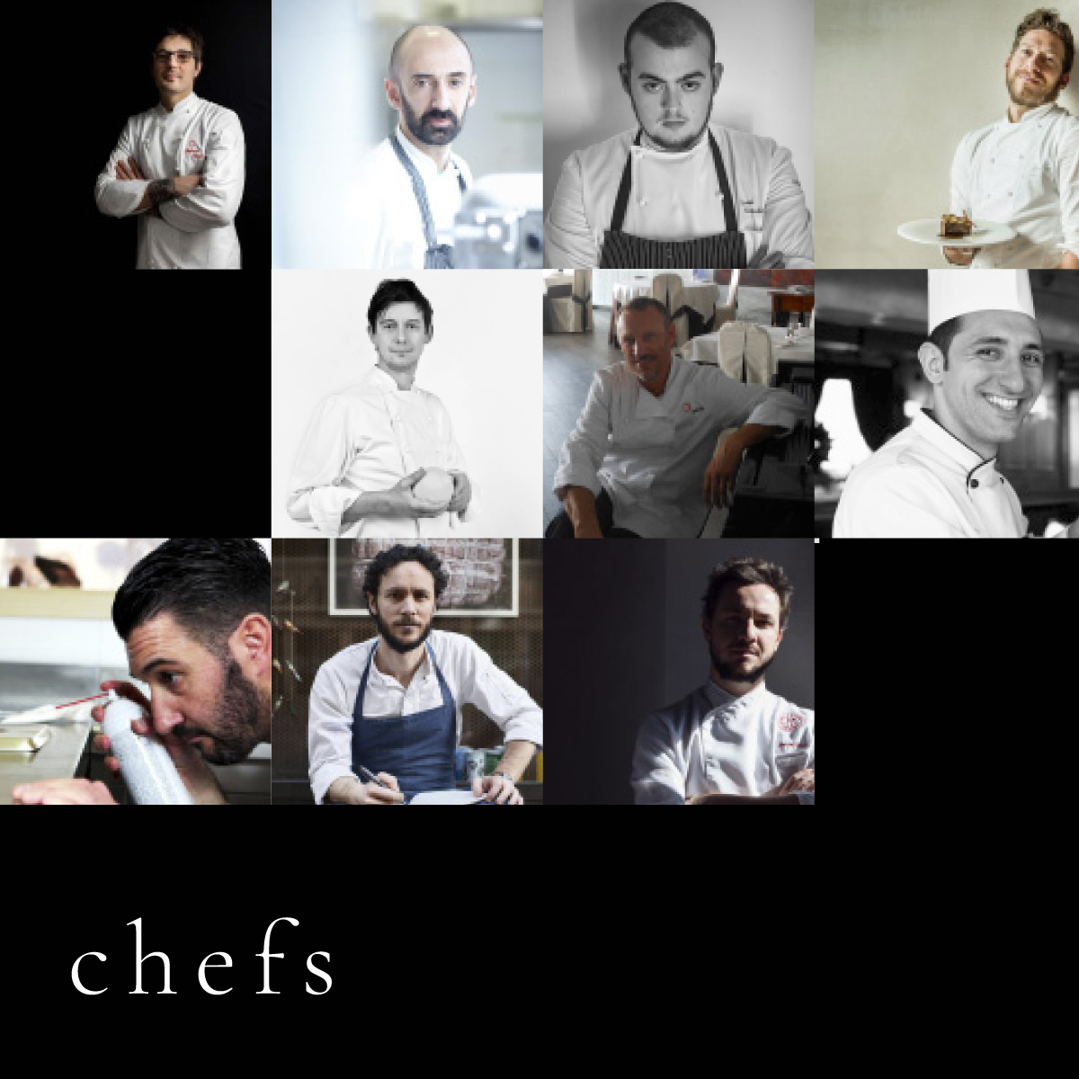 Chefs design and food